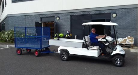 EP 2XL utility vehicle