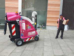 Glutton Electric Street Cleaning Vacuum