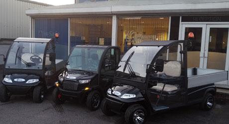 3 electric vehicles