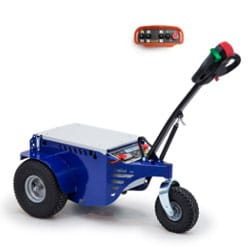 The robust Jobmaster electric pedestrian tug