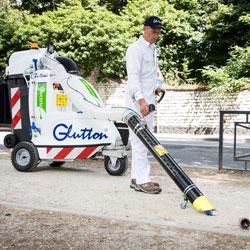 Glutton Being used by cleaner