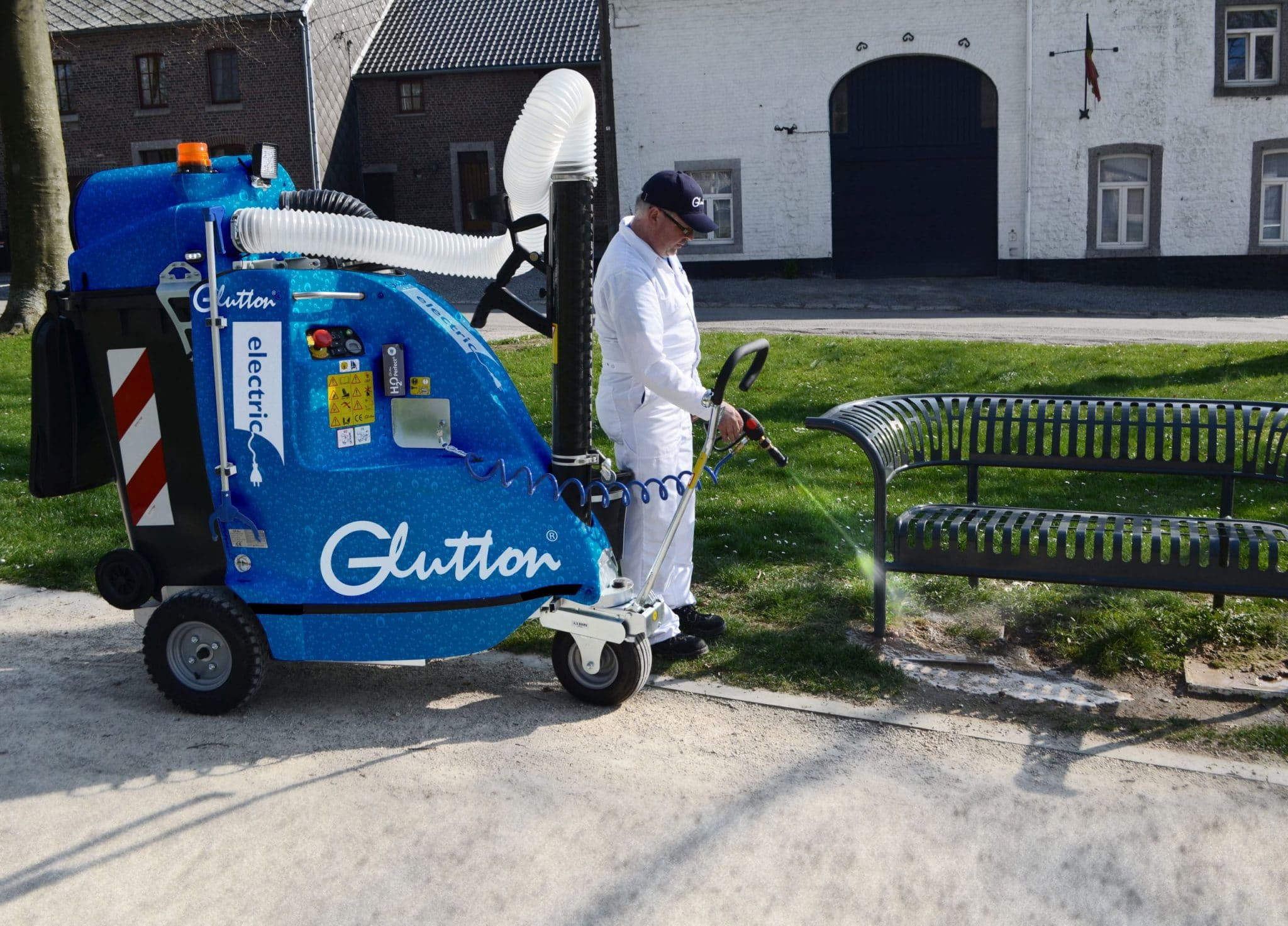 Cleaner using glutton H2O perfect