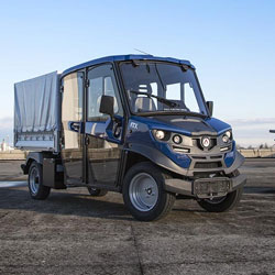 Black Last Mile Delivery Alke Truck