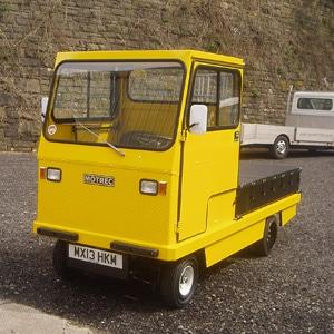 Yellow MC 660 Electric Industrial Burden Carrier