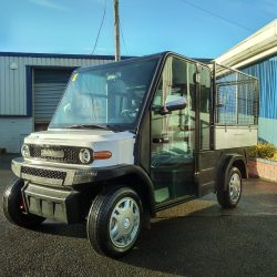 EP AMP XL Road Legal Utility Vehicle Right Front View