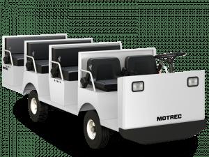 MP 500 Electric Multi Passenger Vehicle Left Front View