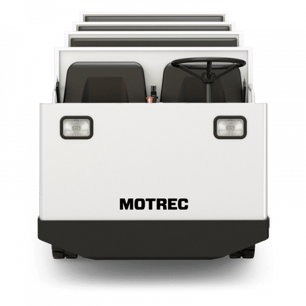 MP 500 Electric Multi Passenger Vehicle Front View
