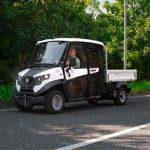 Electric vehicles 4 seats Alke on Road