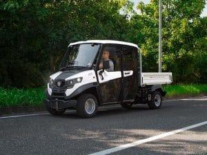 Electric vehicles 4 seats Alke