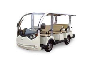 EP 11 Passenger Bus Multi Passenger Electric Vehicle