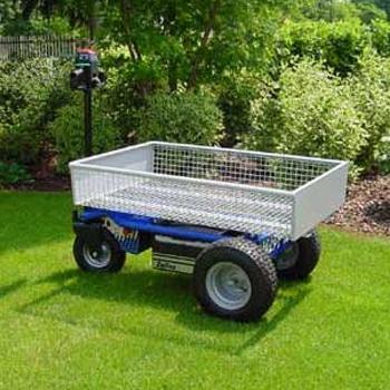 EP 400 Electric Platform Truck In Garden