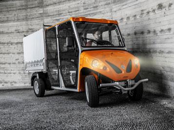 Alke ATX 340 ED Double Cab Electric Utility Vehicle