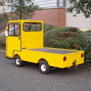 Yellow MC 360 Electric Industrial Burden Carrier