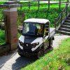 mini electric truck in tight spaces