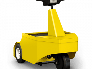 MP 120 Electric Stand On Tow Tug Left Front View