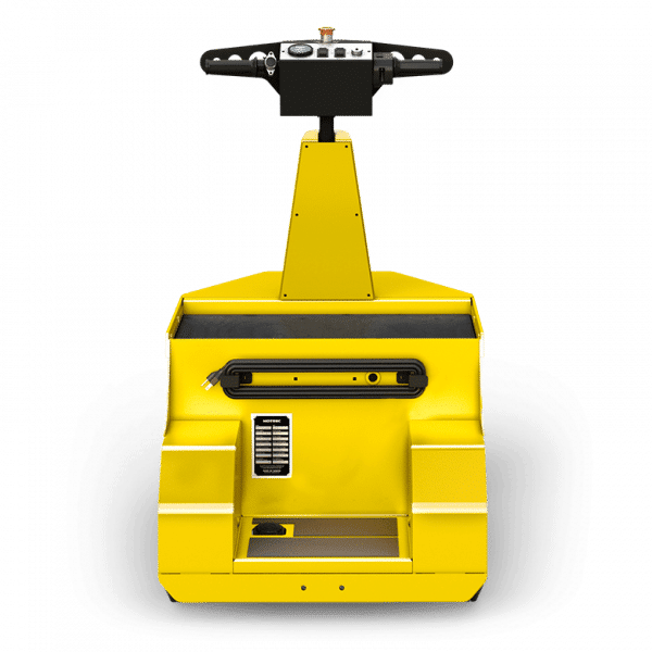 MP 120 Electric Stand On Tow Tug Rear View