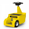 MP 120 Electric Stand On Tow Tug Right Rear View