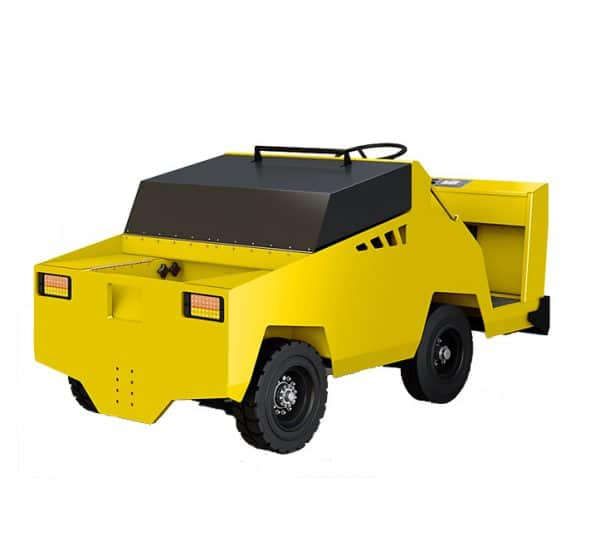 MT 440 Electric Tow Tug Rear Right View