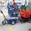 Jobmaster HD Electric Pedestrian Tug in workshop