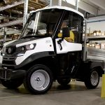Alke ATX 310 E Electric Compact Utility Vehicle in a warehouse