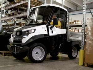 Small Electric Pickup In Warehouse