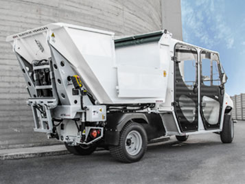 Waste Collection Alke ATX 340 ED Double Cab Electric Utility Vehicle