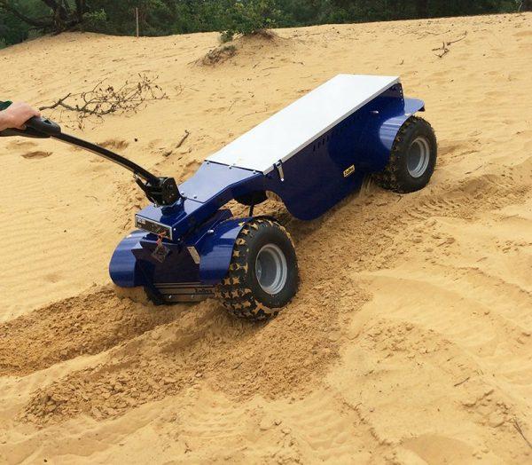 R6 Electric Platform Truck In Sand