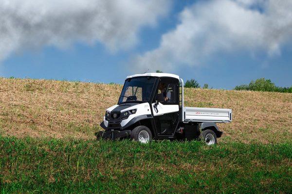 Alke ATX 330 E Electric Utility Vehicle In Field