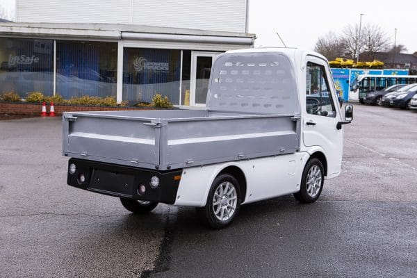 X-Cell Road Legal Electric Utility Vehicle Right Right View
