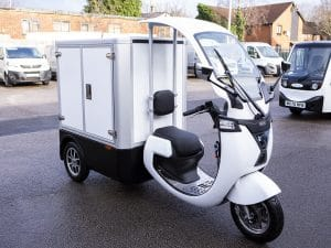 Electric Refrigerated Food Delivery Trike