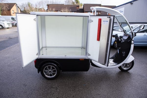 Electric Refrigerated Food Delivery Truck