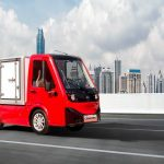 Red X-Cell Road Legal Electric Utility Vehicle