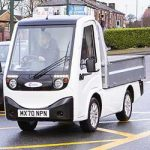X-Cell Road Legal Electric Utility Vehicle being driven