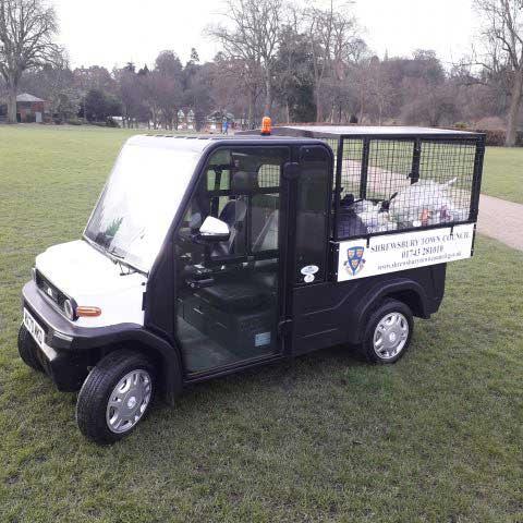 Shrewsbury Town Council electric vehicle