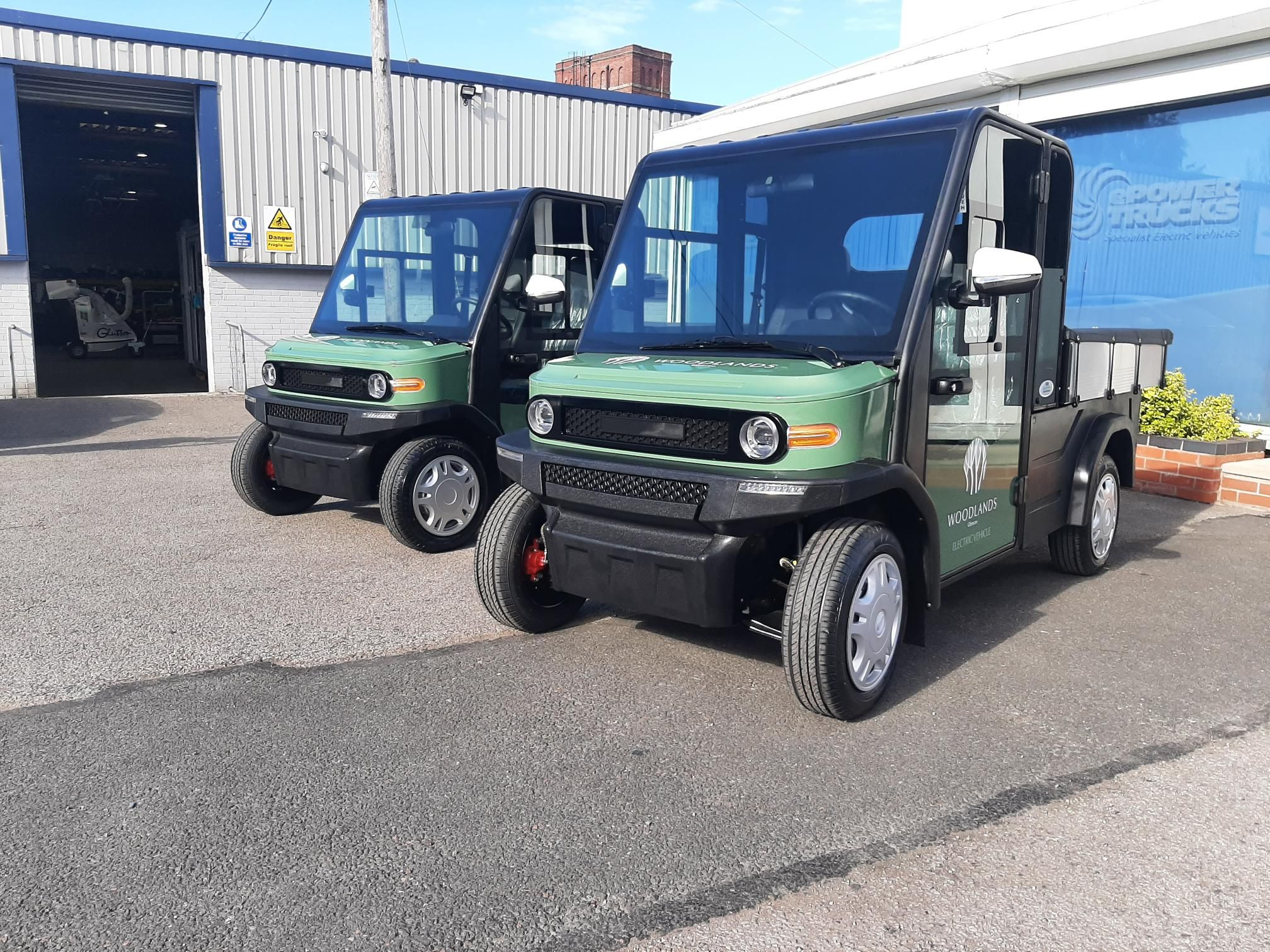 2 Green EP AMP XL Electric Utility Vehicle